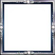 Серебряная рамка