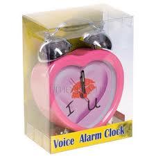 Подарок говорящий будильник