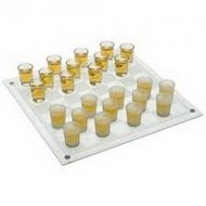 Подарочная настольная игра шашки со стопками