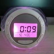 Стильные настольные часы с подстветкой
