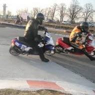Соревнования на скутерах