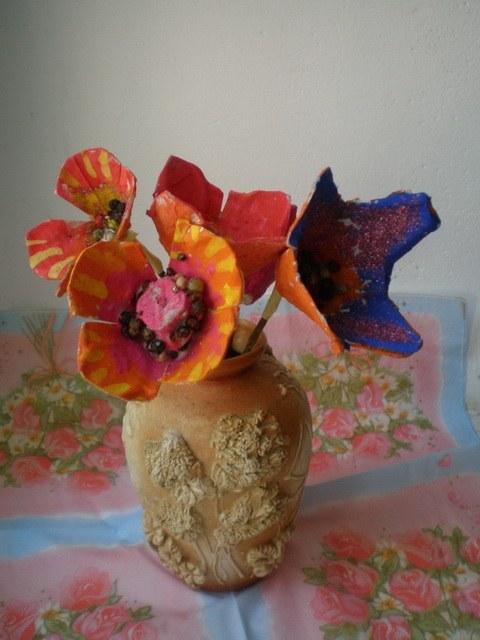 Детское творчество цветы