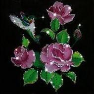 Картина из кристаллов