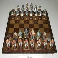 Шахматы с фигурами-солдатиками