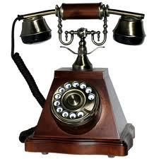 Телефон в старинном стиле