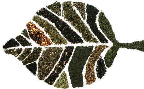 Цвета чайных листьев