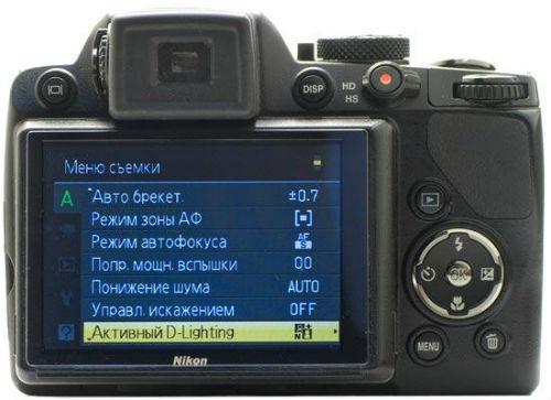 Дисплей, видоискатель фотоаппарата