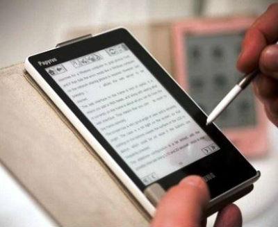 Электронная книга с экраном E-Ink