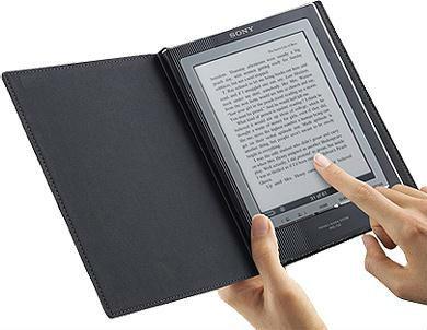 Электронная книга с сенсорным дисплеем