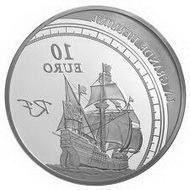 Серебряная коллекционная монета