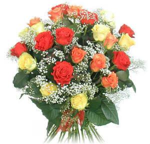 Букет цветов. Розы