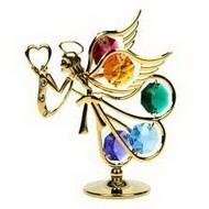 Фигурка ангел с кристаллами