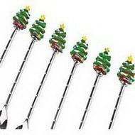Набор ложек рождественская ель