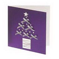 Новогодняя открытка, созданная своими руками