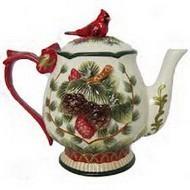 Оригинальный чайник рождественский