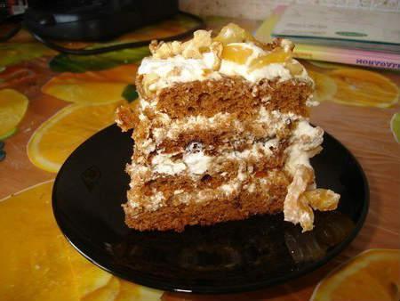 Торт трухлявый пень рецепт с фото простой