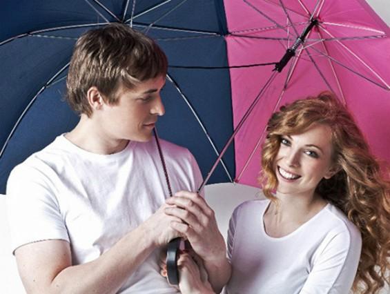 """Зонт для двоих """"Сближающий"""""""