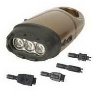 Динамо-фонарь с подзарядкой для мобильного телефона
