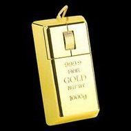 Мышка-слиток золота