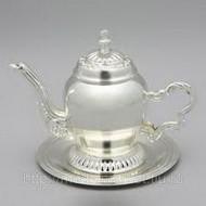 Заварочный чайник из серебра