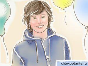 Пятнадцатилетний парень в день рождения
