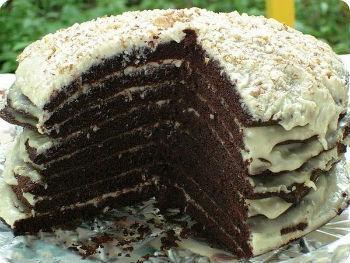 шоколадный торт ночка