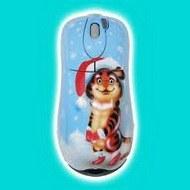 Новогодняя компьютерная мышь
