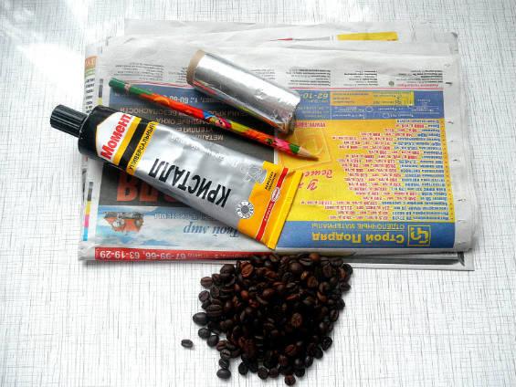 Материалы для создания кофейного дерева