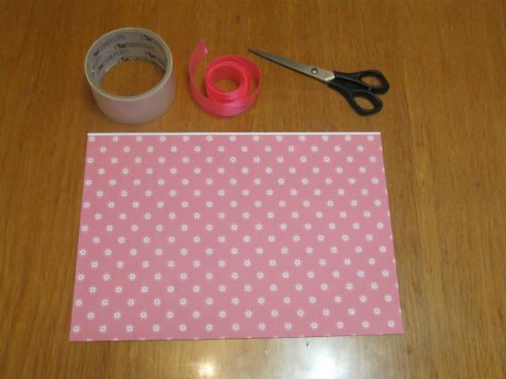 Материалы для изготовления подарочной упаковки в виде конфеты