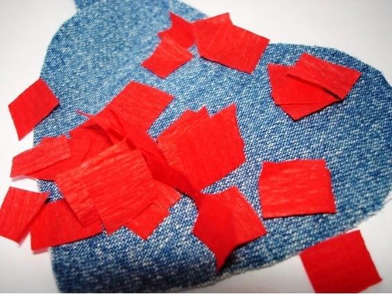Нарезаем квадратитки из бумаги