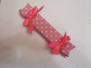 Упаковка подарка в виде конфеты