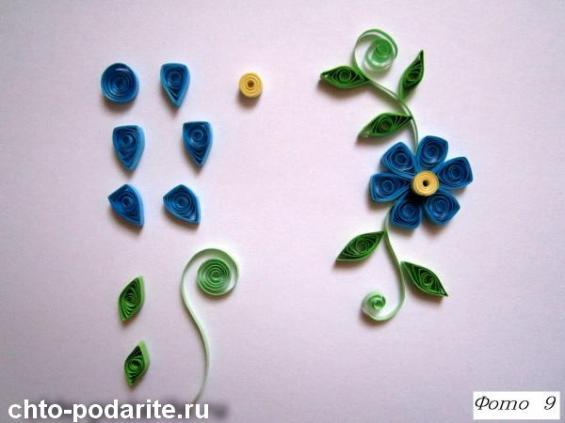 Цветы другой формы