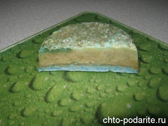 Рецепт мыла с эвкалиптом, морской солью и мелиссой