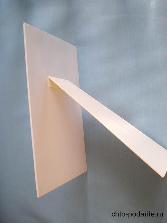 Подставка для фоторамки в стиле шебби-шик