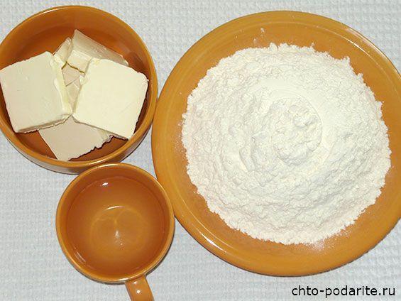 """Ингредиенты для приготовления коржей торта """"Наполеон"""""""
