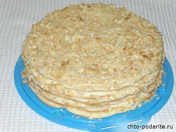 """Приготовление торта """"Наполеон"""" шаг 12"""