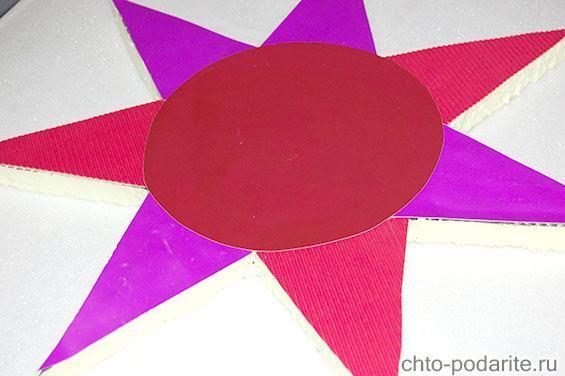 Украшение рождественской звезды, шаг 3
