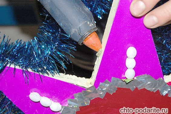 Украшение рождественской звезды, шаг 8