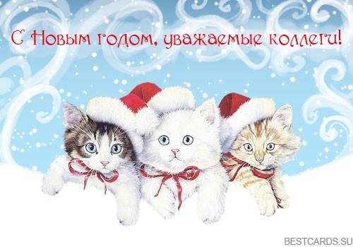 """Виртуальная открытка для форума """"С Новым годом, уважаемые коллеги!"""""""