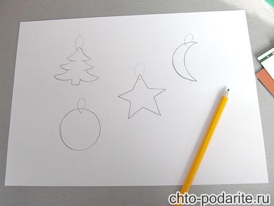 Как сделать большую новогоднюю игрушку своими руками