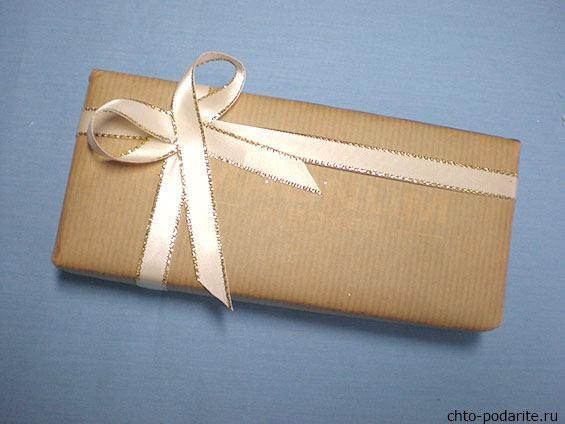 Простая упаковка для подарка