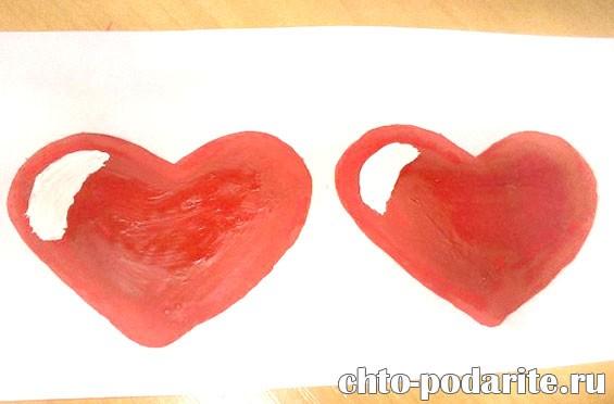 Изготовление открытки–лотереи на День Святого Валентина, шаг 5