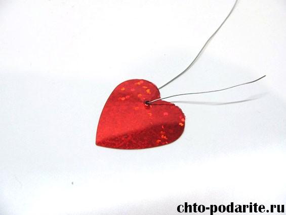 Дерево с сердечками для влюбленных, шаг 3