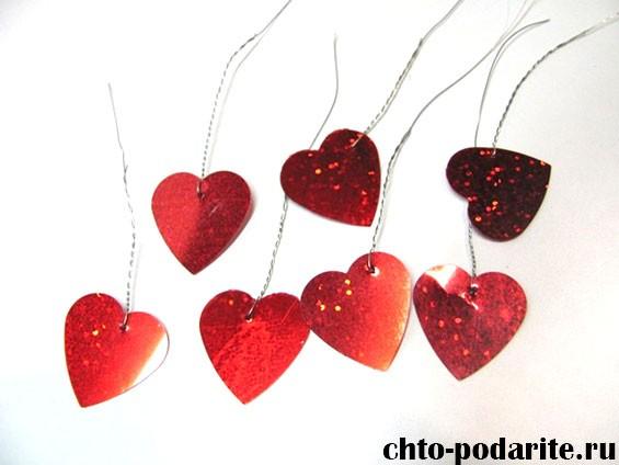 Дерево с сердечками для влюбленных, шаг 4