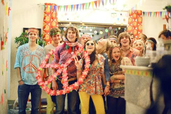Вечеринка в стиле хиппи - план организации и проведения
