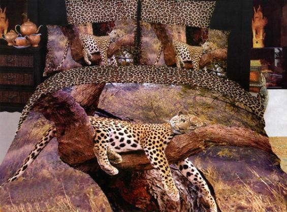 Постельное белье с тиграми