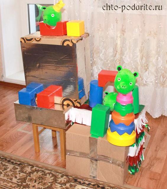 Постройка из игрушек