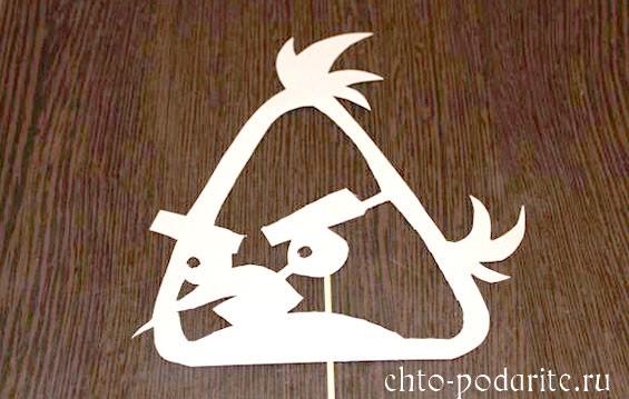 Картонынй силуэт Angry Birds