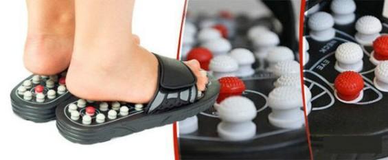 Массажные тапочки Foot Reflex обзор