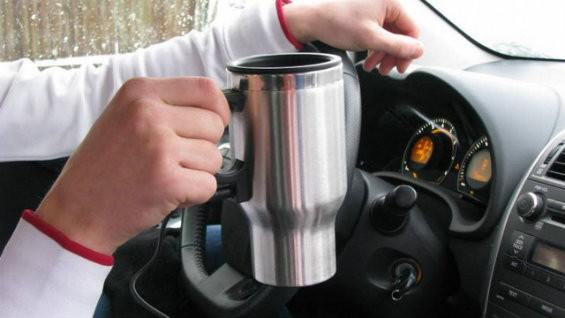 Автомобильная кружка с подогревом